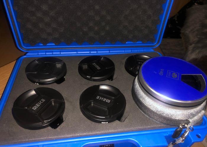 MEKE CINE LENS 5 SET WITH variable ND & Close up lens kit - 2