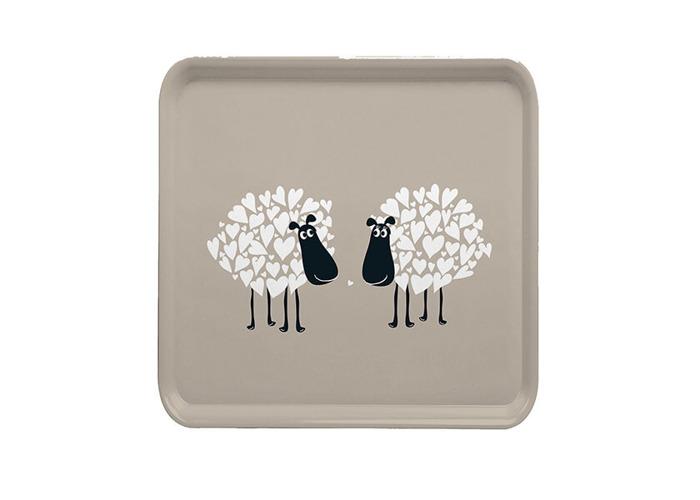 Melamaster Square Tray Sheep - 1