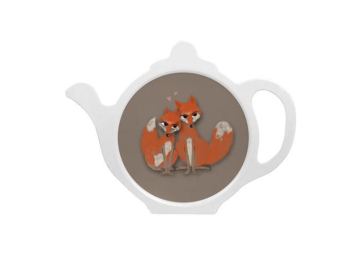 Melamaster Teabag Tidy Fox - 1