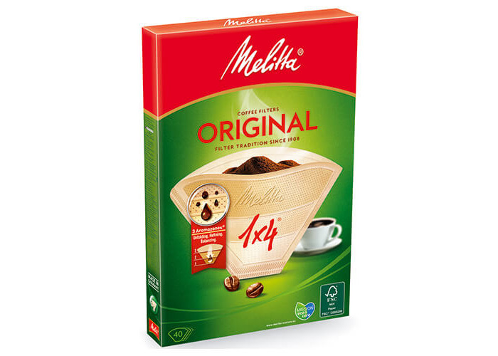 Melitta filter bags Natural Brown 1 x 4/40 - 1