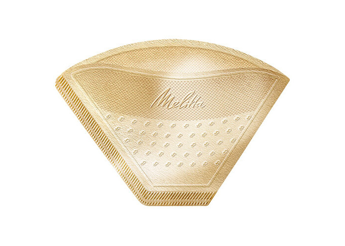 Melitta Gourmet Intense Coffee Filters Size 1x4, 80 Coffee Filters, For Filter Coffee Makers, Brown - 2