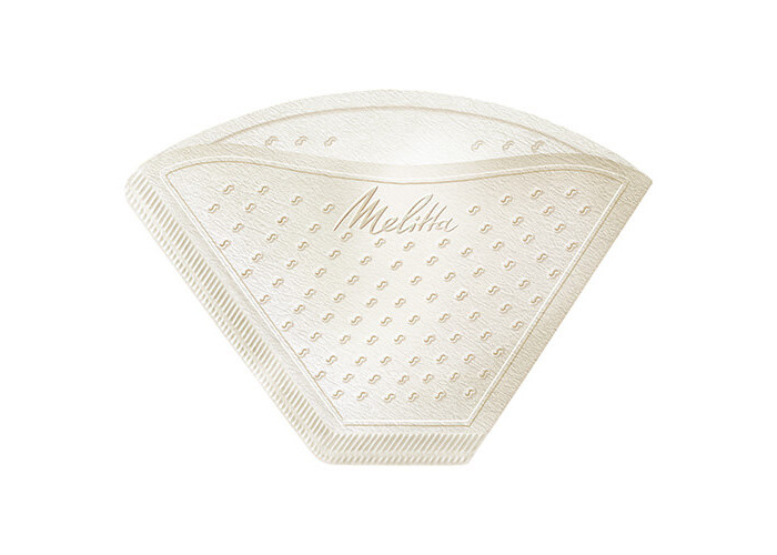 Melitta Gourmet Mild Coffee Filters Size 1x4, 80 Coffee Filters, For Filter Coffee Makers, White - 2