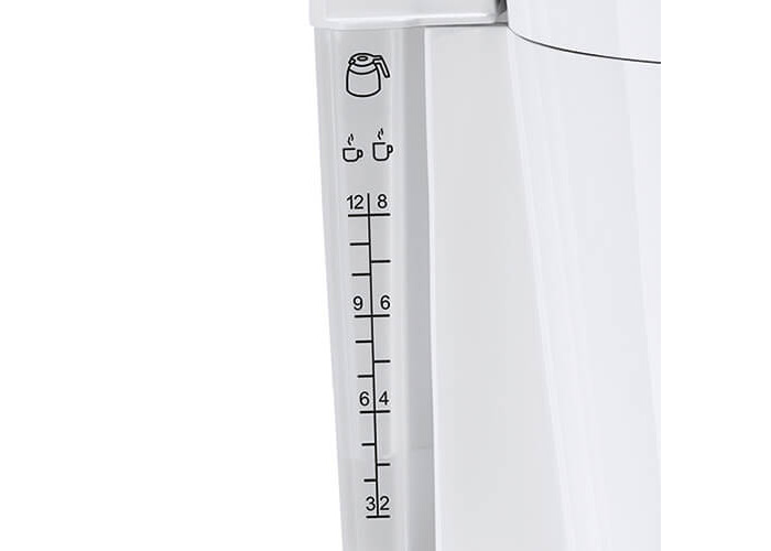 Melitta Look IV Therm, 1011-09, Coffee Machine with Insulated Jug, Aroma Selector, White - 2