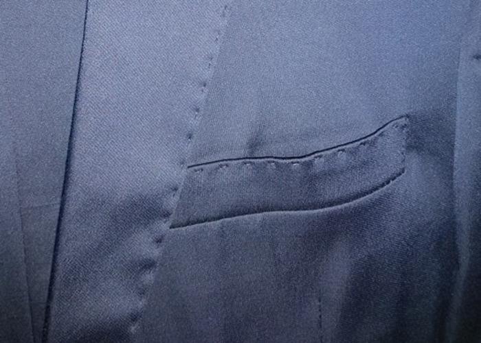 Men/Boy Suit in blue size S - Prom/Weddings - 2