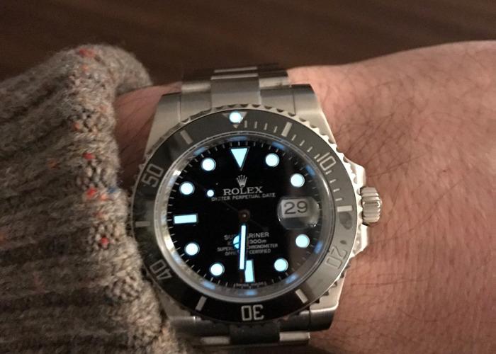 Men's 2016 Rolex Submarinar  - 1
