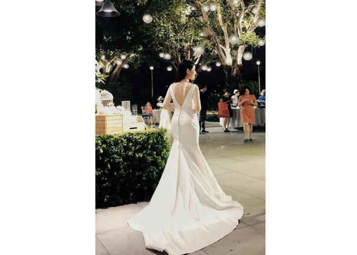 Vestido de novia de sirena - 1