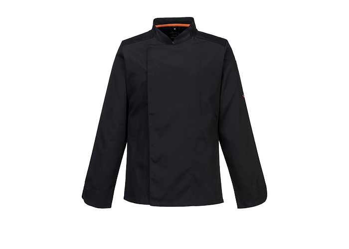MeshAir Pro Jacket  L/S  Black  Small  R - 1