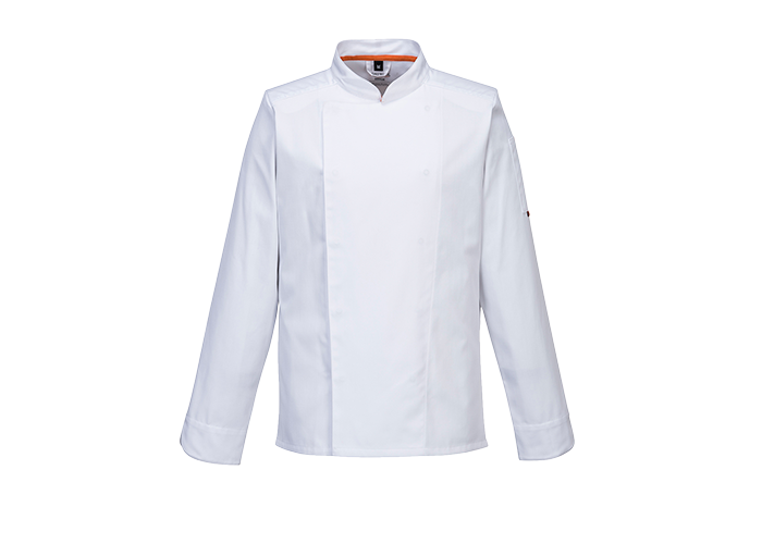 MeshAir Pro Jacket  L/S  White  Small  R - 1