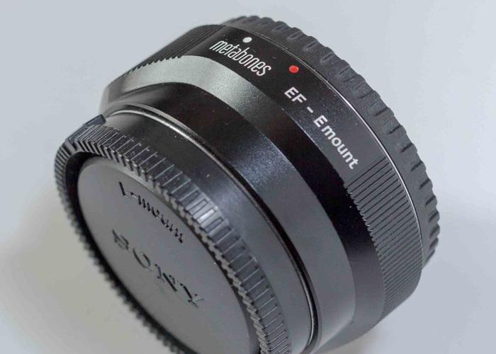 Adaptor Metabones IV Canon EF to Sony E mount - 2
