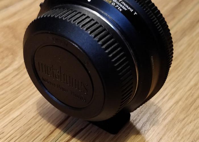 Metabone Speedbooster Ultra 0.71x EF to M43 adaptor - 2