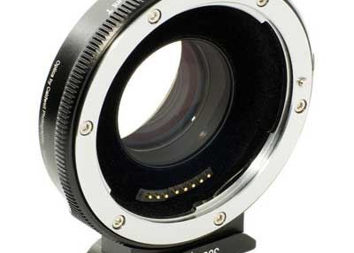 Metabones Canon EF Lens - Micro Four Thirds Speed Booster .7 - 1