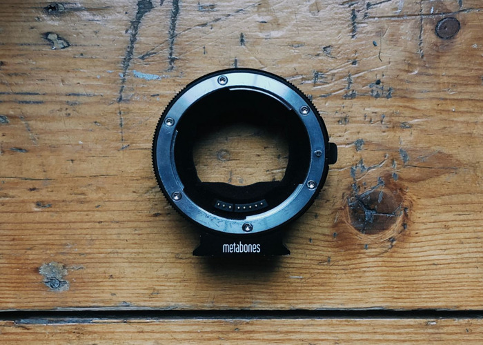 Metabones Canon EF Lens to Sony NEX Smart Adapter (Mark IV) - 1