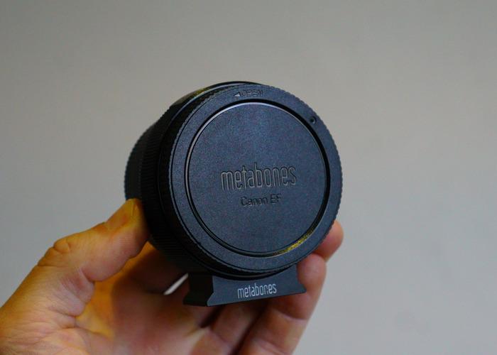 Metabones EF to E Mount lens adapter - 2