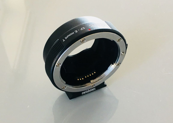 Metabones adapter EF-E mount (canon lenses to sony camera) - 2