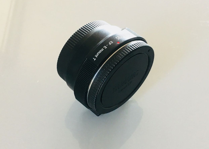 Metabones adapter EF-E mount (canon lenses to sony camera) - 1