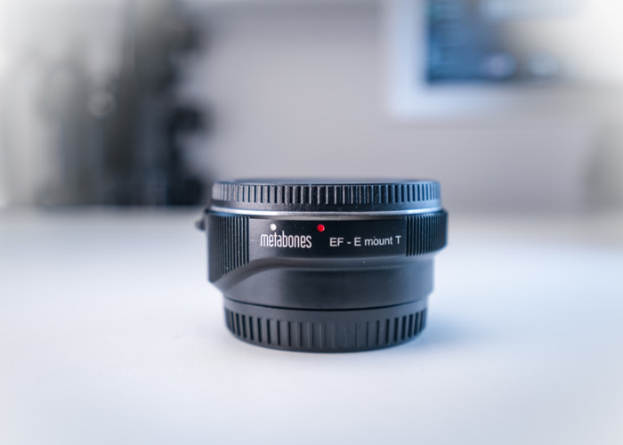 Metabones IV E-mount body to Canon Lens adaptor  - 2