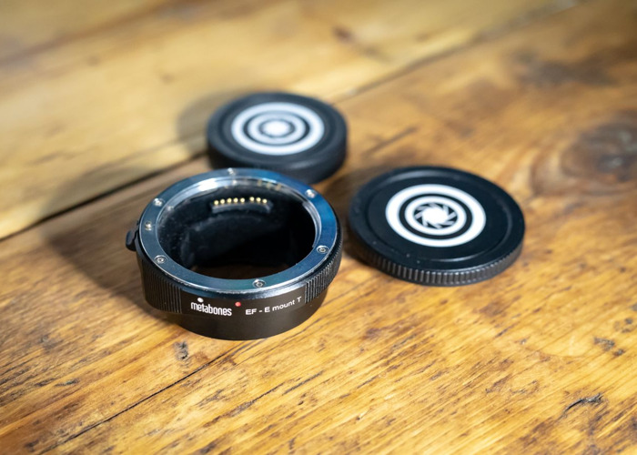 Metabones MK IV Smart Adapter - Canon EF to Sony E Mount - 2
