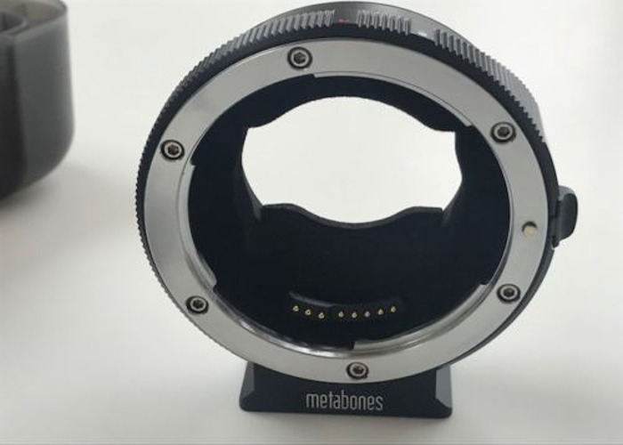 Metabones MK V Smart Adapter - Canon EF to Sony E Mount - 1
