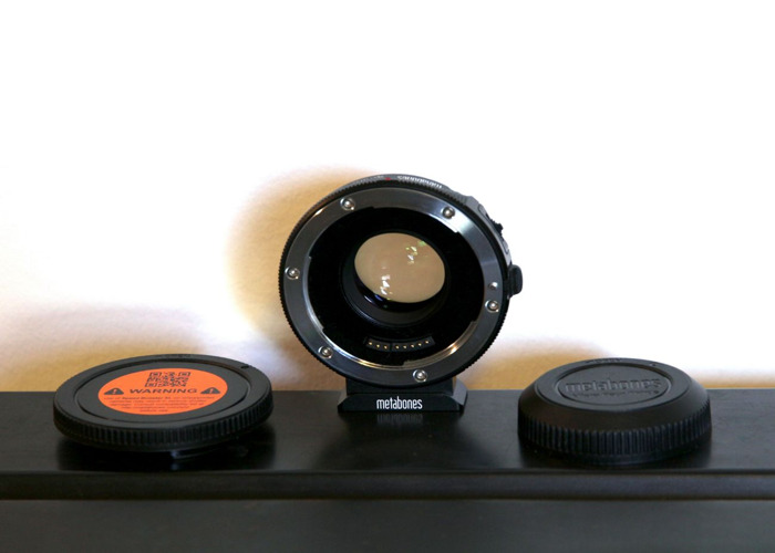 Metabones Speed Booster Ultra 0.71x Canon to Micro 4/3rds - 1