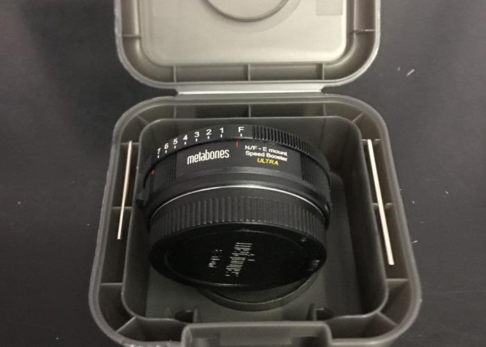 Metabones Speedbooster Nikon MF to Sony E mount - 1