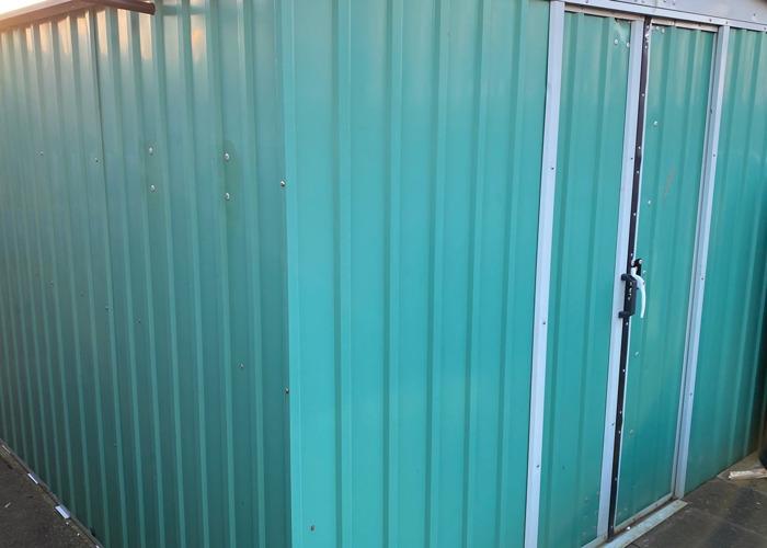 Metal shed - 2
