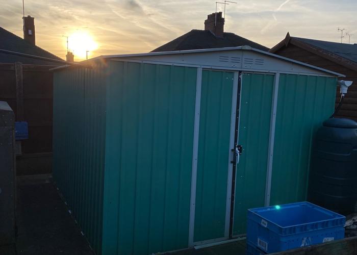 Metal shed - 1