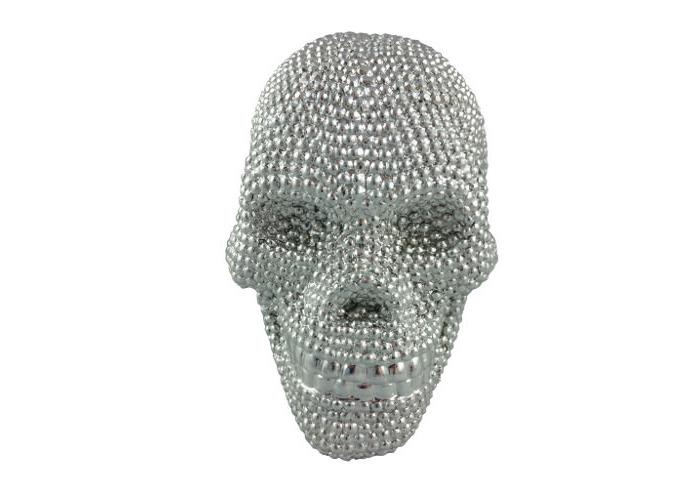 Metal Skull in Silver - 1