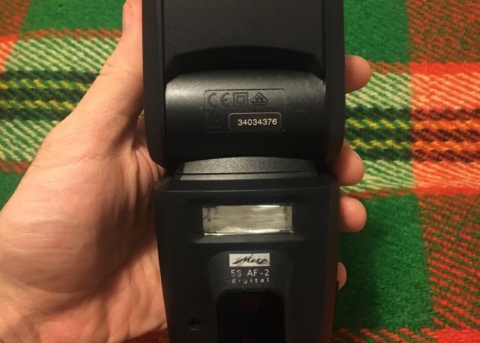 Metz flash 58 AF-2 for Nikon (batteries included) - 1