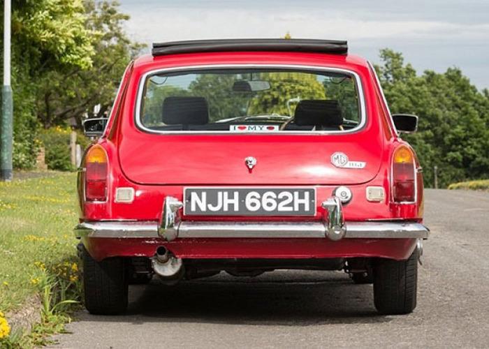 MG B GT (1970) - 2