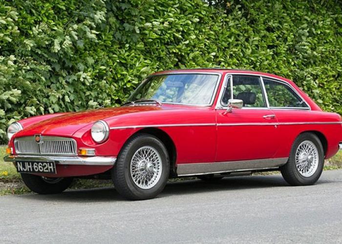 MG B GT (1970) - 1