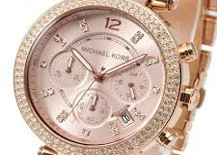 Michael Kors Ladies' Parker Chronograph Watch MK5896 - 2