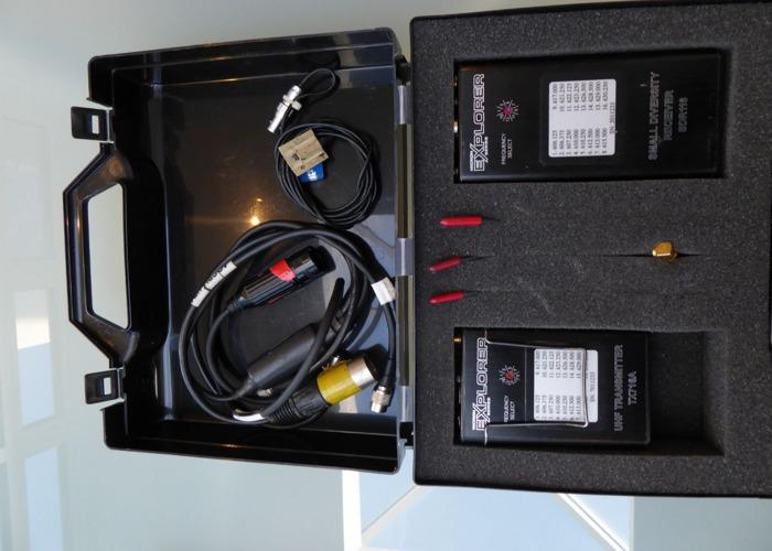 Micron Explorer Radio mic kit.  - 1