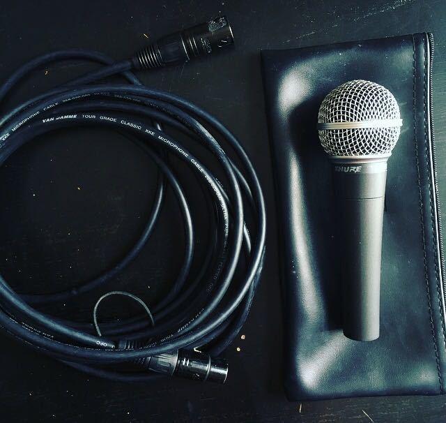 Microphone Shure Sm58 - 1