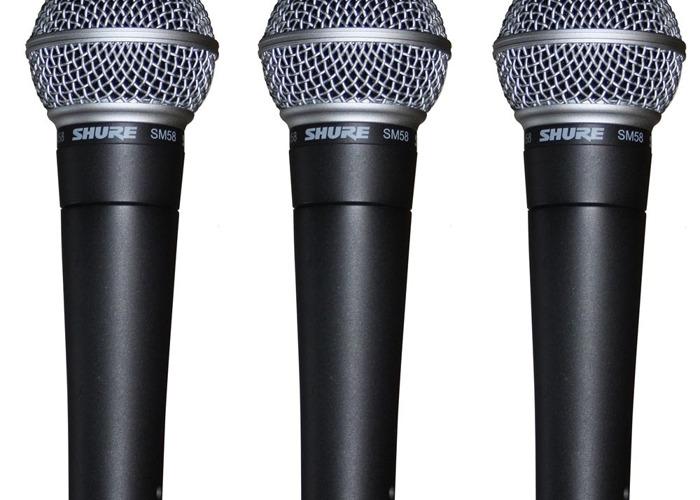 Microphones- SM58 x4 - 1