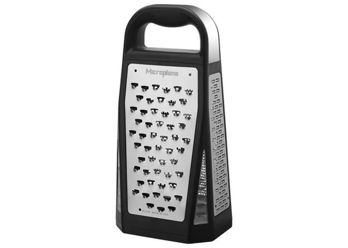 Microplane Elite Box Grater and Cover - 1
