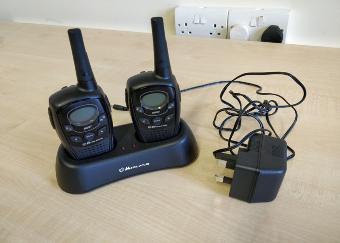 Midland G6 XT 2 Way Radios (Pair) Walkie Talkie PMR Radio Li - 1
