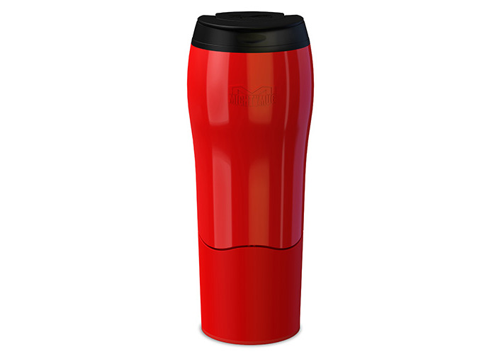 Mighty Mug Go - The Travel Mug That Won't Fall Over (0.47 Litre), Red - 1
