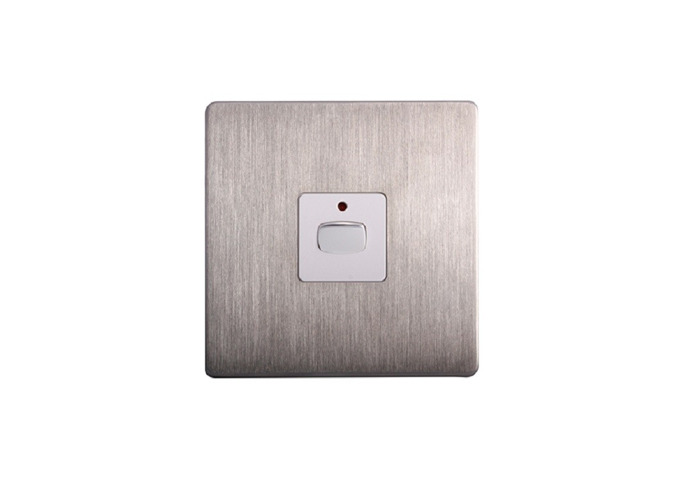 MiHome Dimmer Switch, Brushed Steel - 1