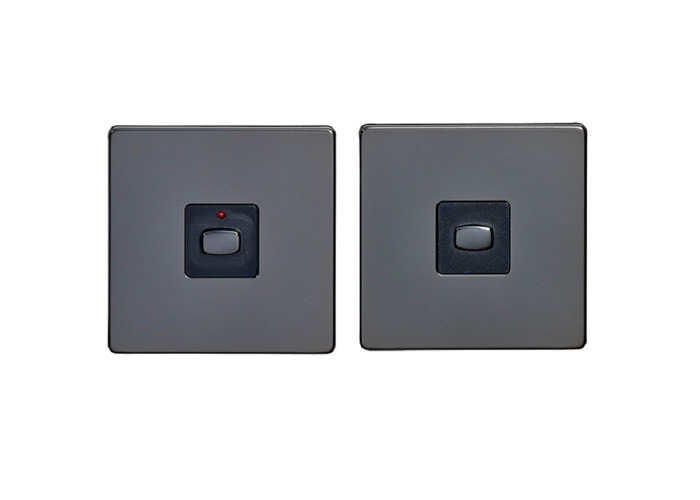 MiHome Master Slave Light Switch, Black Nickel - 1