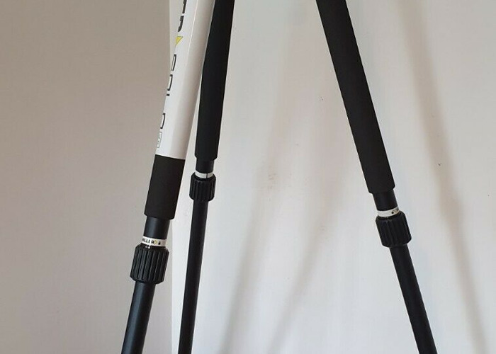 Miller 3001 AIR Solo 75 2 Stage Alloy Video Tripod - 1