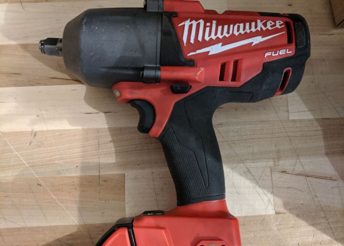 "Milwaukee M18 FUEL 1/2"" High Torque Cordless Impact Wrench - 1"