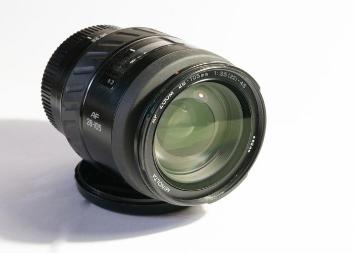 Minolta AF Zoom 28-105mm f3.5-4.5 (A Mount) - 2