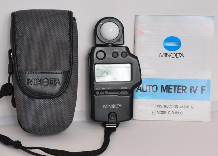 MINOLTA Light Meter IV F - 1