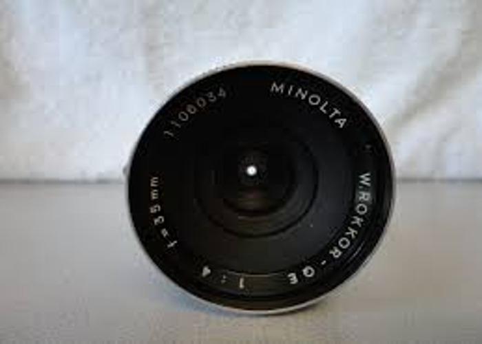 Minolta Prime lenses for Sony A7S II - 2