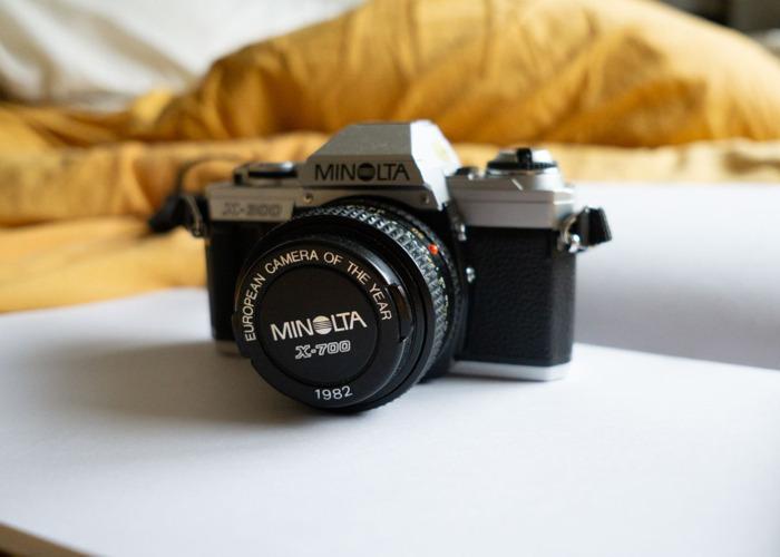 MINOLTA X-300 35mm SLR Camera with 50mm f/1.7 lens - 1