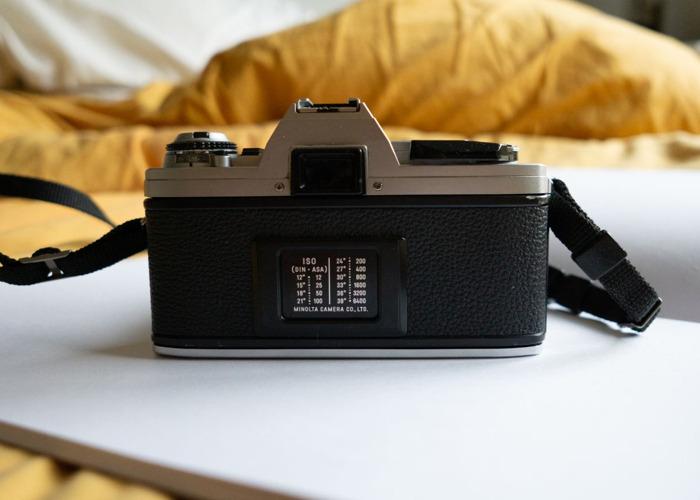 MINOLTA X-300 35mm SLR Camera with 50mm f/1.7 lens - 2
