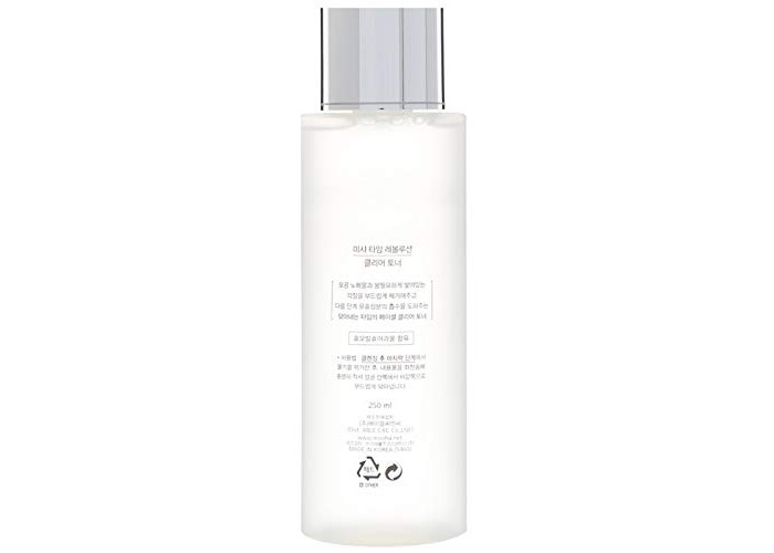 Missha Time Revolution Clear Toner 250ml - 1