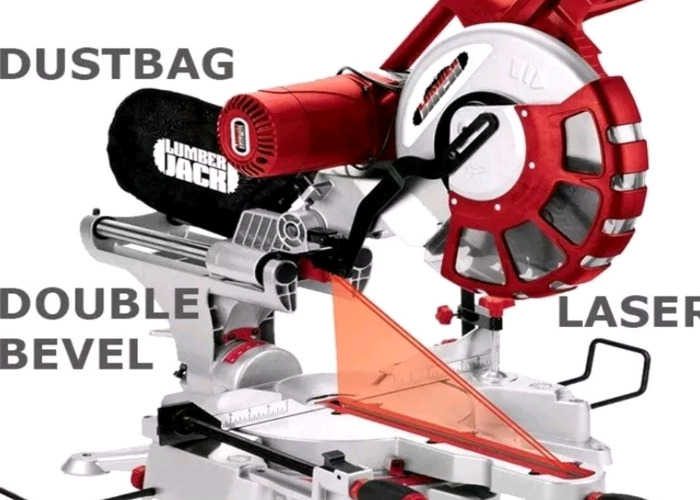 Mitre saw laser guided - 1