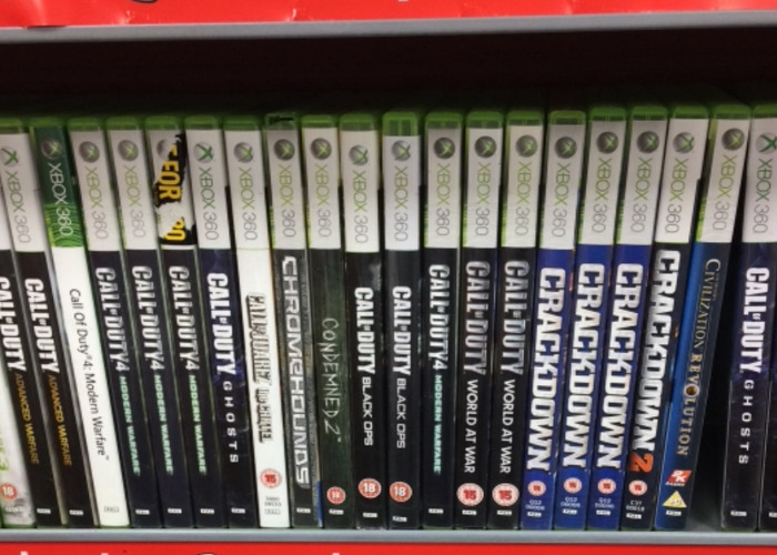 Mix of Games Xbox (lucky Dip) - 1