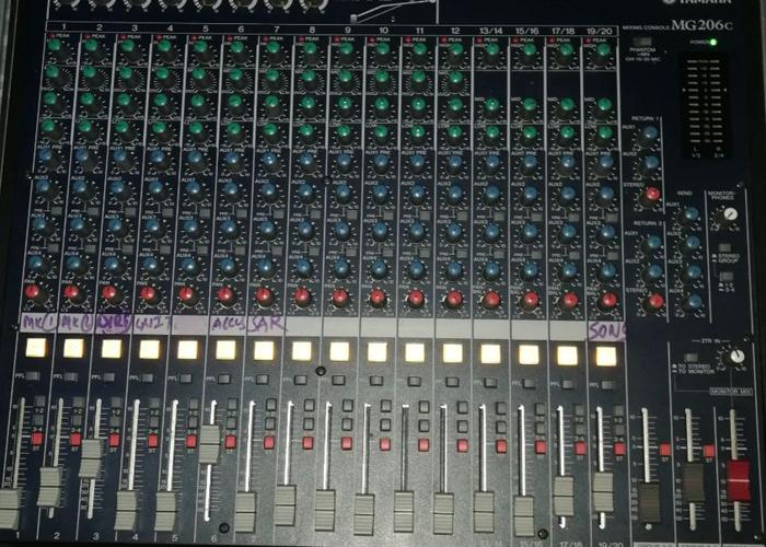 Mixer Yamaha MG206c - 2